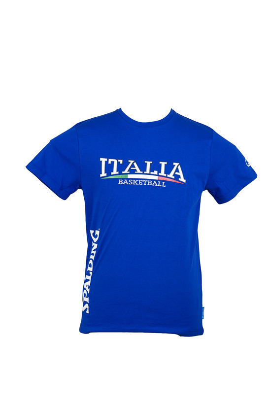 T-SHIRT ITALIA MANICHE CORTE