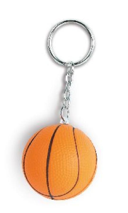 Portachiavi pallone basket antistress