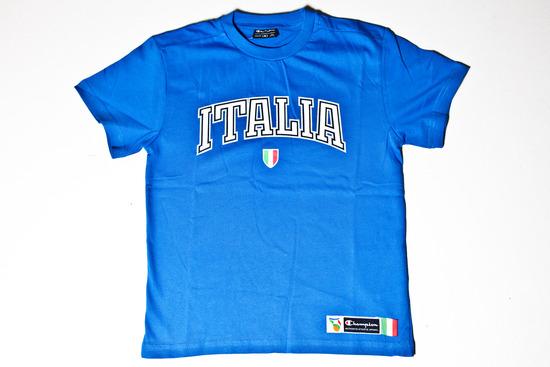 T-Shirt bambino Blu
